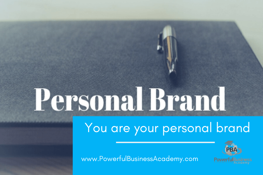 You are your personal brand