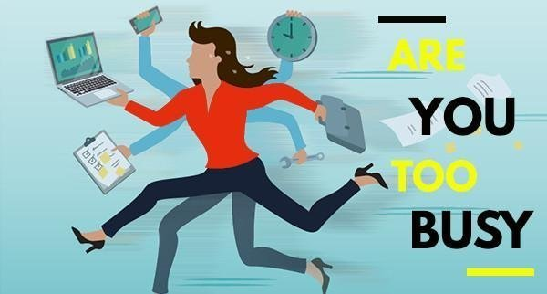 Are you too busy to work ON your business?
