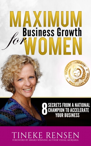 Maximum Business Growth For Women, hardcopy book