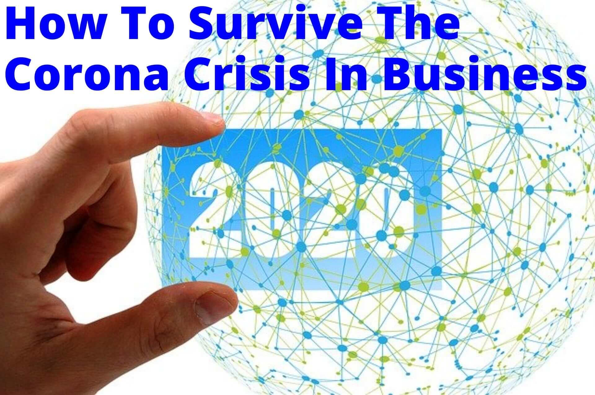 How to Survive and/or Transform Your Business During  the Corona Crisis